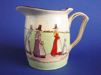Rare Royal Doulton 'Welsh' Series Ware Westcott Jug D5914 c1939 (Sold)